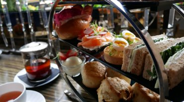 Champagne Afternoon Tea for Two at Polo Bar